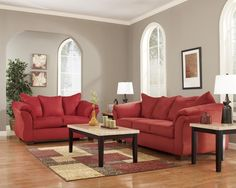 Ashley Darcy Salsa Living Room Set
