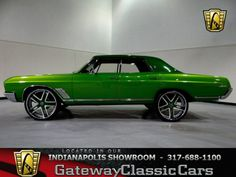 1967 Buick Skylark  located in the Indianapolis showroom for more information and a HD video visit our webpage.  http://gatewayclassiccars.com/displaycar?stock=155&location=NDY