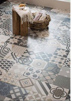 Galata wall and floor Porcelain tile range in grey / beige mix. Also available in 3 other colours.  www.eslceramics.co.uk