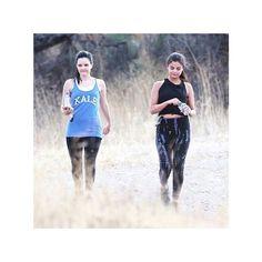 Selena Gomez spotted wearing our Scrunchy Waist Leggings on a weekend hike. #selenagomez #hardtailforever #scrunchywaistleggings