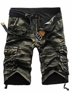 8d972f993be Air Brushed Shorts Mens Camo Shorts