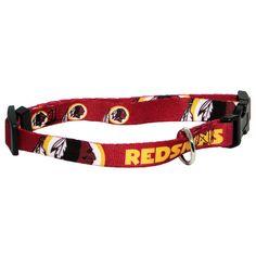 Washington Redskins NFL Licensed Dog Collar Dog Collar With Name 1dc132d22