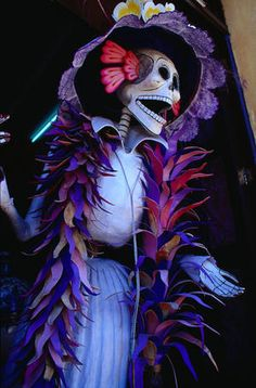 Haven't attended the Day of the Dead Festival yet... but have been to Oaxaca