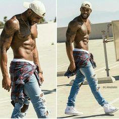 Royal G. ( I makes NO sense for him to be this fine Fine Black Men, Gorgeous Black Men, Handsome Black Men, Fine Men, Cute Black Boys, Hot Black Guys, Dark Man, Eye Candy Men, Chocolate Men