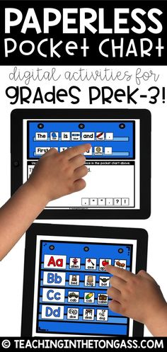 PERFECT activities for Google Classrooms! These are great iPad activities (and Chromebook or other computers) for students in Preschool, Kindergarten, First Grade, and Second Grade.