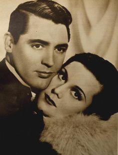 Cary Grant & Helen Mack, New Movie magazine, September 1934