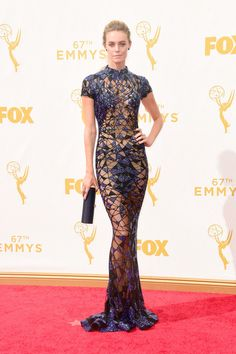 Christine Marzano 2015 - The Most Daring Emmy Dresses of All Time - Photos