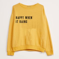 "Sweatshirt ""Happy wh"