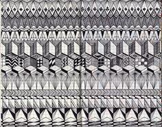 A Book of Patterns by Lou Medel Jr., via Behance