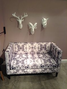 Showroom 212 at High Point Market, Furniture Showroom, Love Seat, Skyline, Couch, Fall, Home Decor, Autumn, Settee