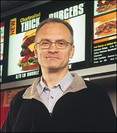 """Andrew Puzder Scty of Labor.  CEO of Hardees and Carl's Jr.    """"Women in Bikinis eating burgers is very American"""""""