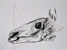 Dot Horse - Tattoo design by MySweetDarkness.deviantart.com on @DeviantArt