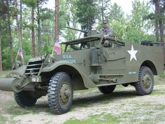 Terry Markarian  of S.O.S.M.V. (Saving Old Stock Military Vehicles) sent this image of one of the M3A1s they restored