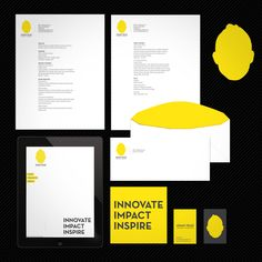 graphic design stationary - Google Search