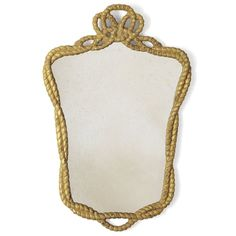 Nelson hand carved and gilded mirror