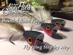 Fly Tying for Beginners a Bobber Popper with Jim Misiura - YouTube