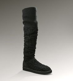 Womens Over the Knee Twisted Cable By UGG Australia