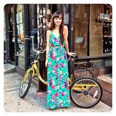 Jackie From #yumikim Les Shop Family Rockin' Yk Malu Dress! We're Obsessed W/this Print! So #pretty! #ykmyway By Yumi Kim