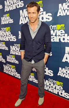 Ryan Reynolds' Laid-Back Chic Wins Best of the Night at MTV Movie Awards: The GQ Eye: GQ on Style: GQ