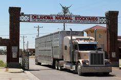 Oklahoma National Stockyards - Stockyards City - Oklahoma City, OK ...Agnew street