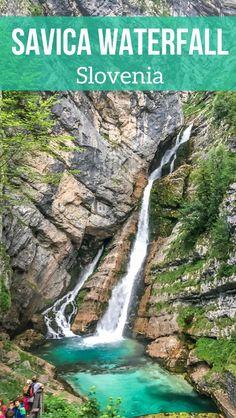 Pin Walk Slap Savica Waterfall Slovenia