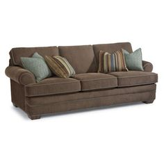 Flexsteel 7354-31 Lehigh Sofa available at Hickory Park Furniture Galleries