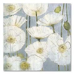 Poppy In White Wall Art