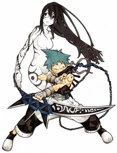 Black*Star and Tsubaki - Soul Eater