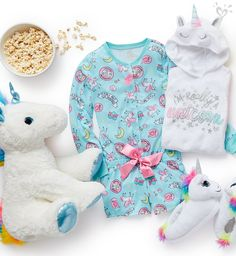 Find the latest in colorful and comfy sleepwear sets for girls at Justice! Shop cute pajamas in tons of fun prints and designs to match her individual style with our collection of sleepwear tops, bottoms, onesies and more. Slumber Parties, Sleepover, Lol Dolls, Barbie Dolls, Kids Outfits, Cute Outfits, Justice Clothing, Cute Pajamas, Little Fashionista