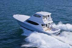 Hatteras GT We like the enclosed flying bridge version because it adds a lot more year round living space to the boat without a commensurately large up-tick in price. Hatteras Yachts, Big Game, Long Legs, Boats, Bridge, Space, Amazing, Floor Space, Ships