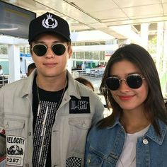 Liza Soberano and Enrique Gil are all set for Star Magic Anniversary Canada and US tour! Enrique Gil, Liza Soberano, Round Sunglasses, Mens Sunglasses, Star Magic, 25th Anniversary, For Stars, Otp, Icons