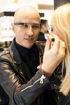 Move over, Zoella! Will in-store make-up tutorials recorded on Google Glass for you to replay at home spell the end for YouTube beauty stars? http://www.dailymail.co.uk/femail/article-2868623/Makeup-tutorials-using-Google-Glass-big-news-2015.html