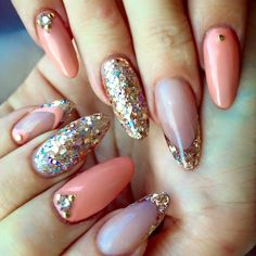 We are totally crushing over these amazing L&P nails done by CND EA Kayley…