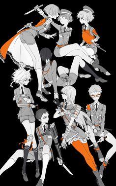 hotarumaru,Touken Ranbu,Anime,Аниме,zmore,iwatooshi,yamato-no-kami yasusada,akita toushirou,atsushi toushirou,gokotai,gokotai's tigers,hakata toushirou,hirano toushirou,Maeda Toushirou,midare toushirou,yagen toushirou,Monochrome (Anime)