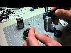 Scale Model Detailing: Blackwashing with Acrylics - YouTube