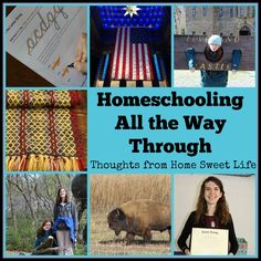 Homeschooling All the Way Through | Homeschool Review Crew ~ If you are wondering if you can do this – homeschool all the way through, I want to encourage you that – yes, you can…with help!