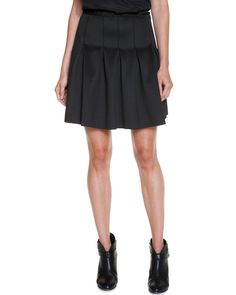 Spotted this BCBGeneration Black Pleated Scuba Skirt on Rue La La. Shop (quickly!).