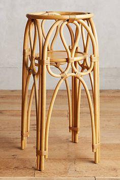 Rattan Plant Stand, Large - Design l Stool - Design Rattan Furniture Rattan Planters, Rattan Basket, Wicker, Bamboo Furniture, Furniture Decor, Fall Home Decor, Autumn Home, Diy Plant Stand, Plant Stands