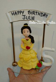 Cake topper Bella