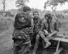 "photo by Jim ""Flash"" Miteff, Detroit Outlaws Motorcycle Club, Retro Motorcycle, Biker Clubs, Motorcycle Clubs, Love Cafe, Harley Davidson Knucklehead, Biker Gear, Teddy Boys, Trucks And Girls"
