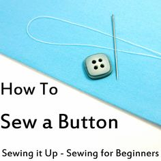 Now *this* is how you sew on a button! Holy dangit. I've been doing it ALL wrong all this time! I feel so incredibly stupid. Glad to have this awesome pic tut though!