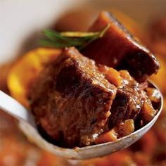 Port-braised Short Ribs with Ginger & Star Anise Recipe - Sunset Magazine Short Rib Stew, Braised Short Ribs, Beef Short Ribs, Beef Ribs, Passover Recipes, Jewish Recipes, Kosher Recipes, Rib Recipes, Food & Wine Magazine