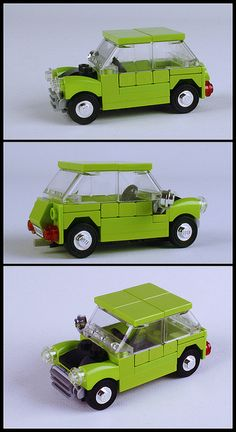 Mr. Bean's Mini (Lego)