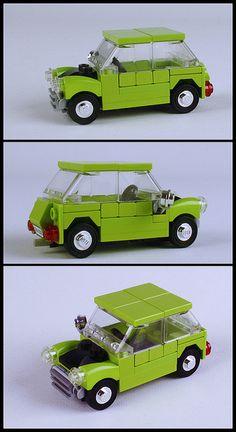 Mr. Bean's Mini (Lego)