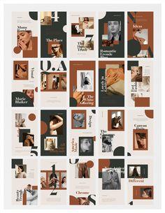 Portfolio Design Layouts, Page Layout Design, Magazine Layout Design, Book Design, Instagram Design, Graphic Design Studios, Graphic Design Typography, Editorial Layout, Editorial Design