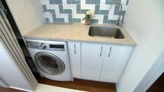 Holiday Home Reveal: Laundry (Zone 3) - Photos - House Rules - Official site