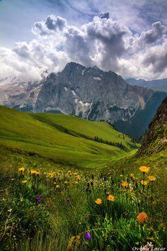 Dolomites, Italy. at mountain... by Lazar Ovidiu on 500px