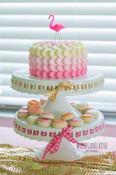Birthday Party Options – Creative Birthday Party Ideas That Works Pink Flamingo Party, Flamingo Cake, Flamingo Birthday, Pink Flamingos, Tropical Party, Luau Party, 1st Birthday Parties, Birthday Ideas, Cakes And More