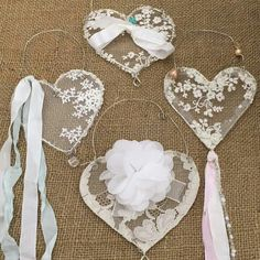 valentine decorations 591308626061816944 - fabric crafts shabby chic Lacehearts Source by catherinelamotte Valentines Bricolage, Valentine Day Crafts, Valentine Decorations, Christmas Crafts, Diy And Crafts, Arts And Crafts, Fabric Hearts, Shabby Chic Crafts, Lace Heart
