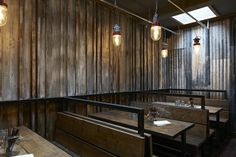 Barnyard restaurant in London designed by Brinkworth for Ollie Dabbous…